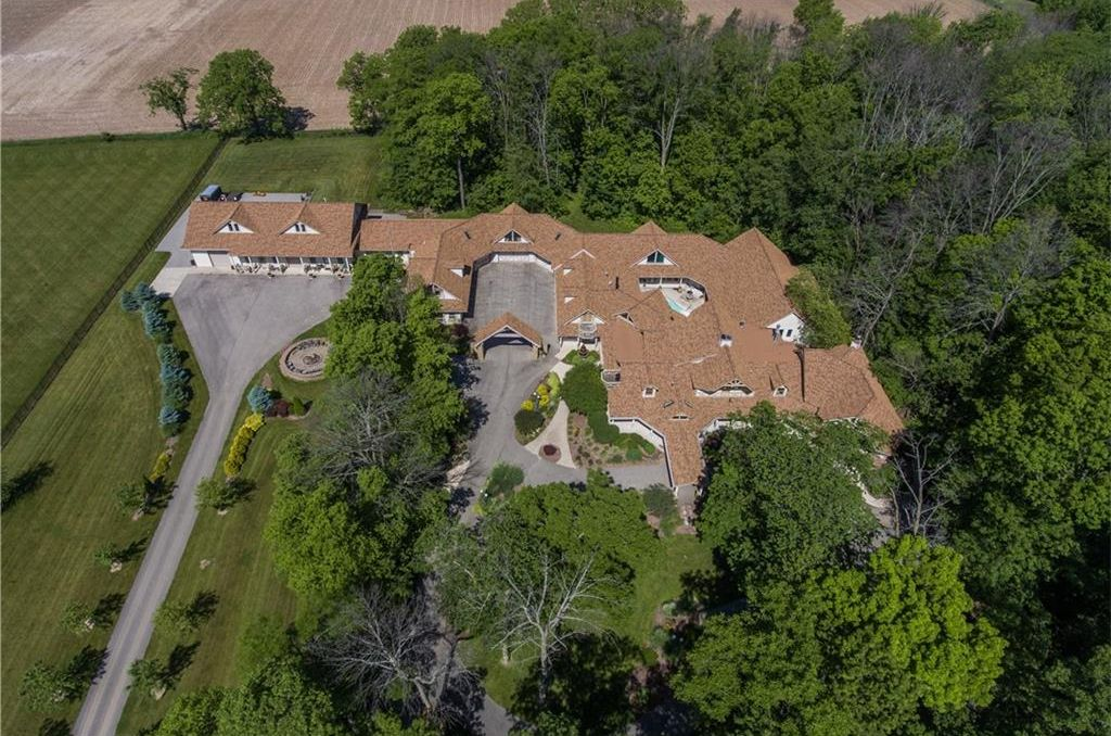 20 000 Sq Ft Indiana Mansion With 2 Pools 2 Movie