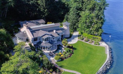16,000 Sq. Ft. Lighthouse Mansion On 24-Acres With 1000′ Of Puget Sound Waterfront Yours For $20-Million (PHOTOS & VIDEO)
