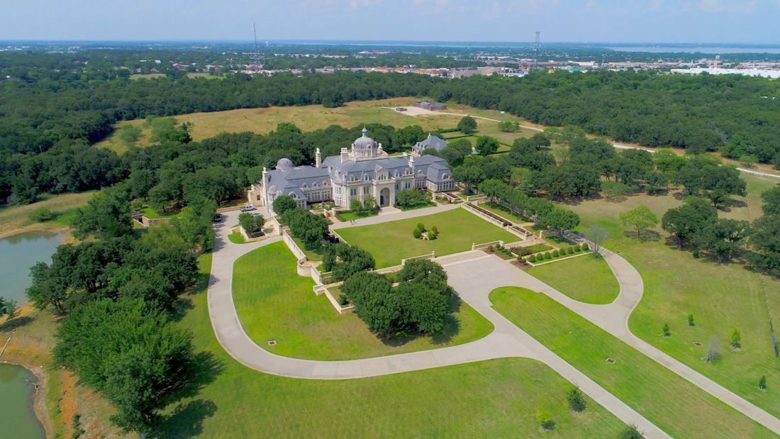Champ D Or 48 000 Sq Ft Texas Manor Once Priced At 72