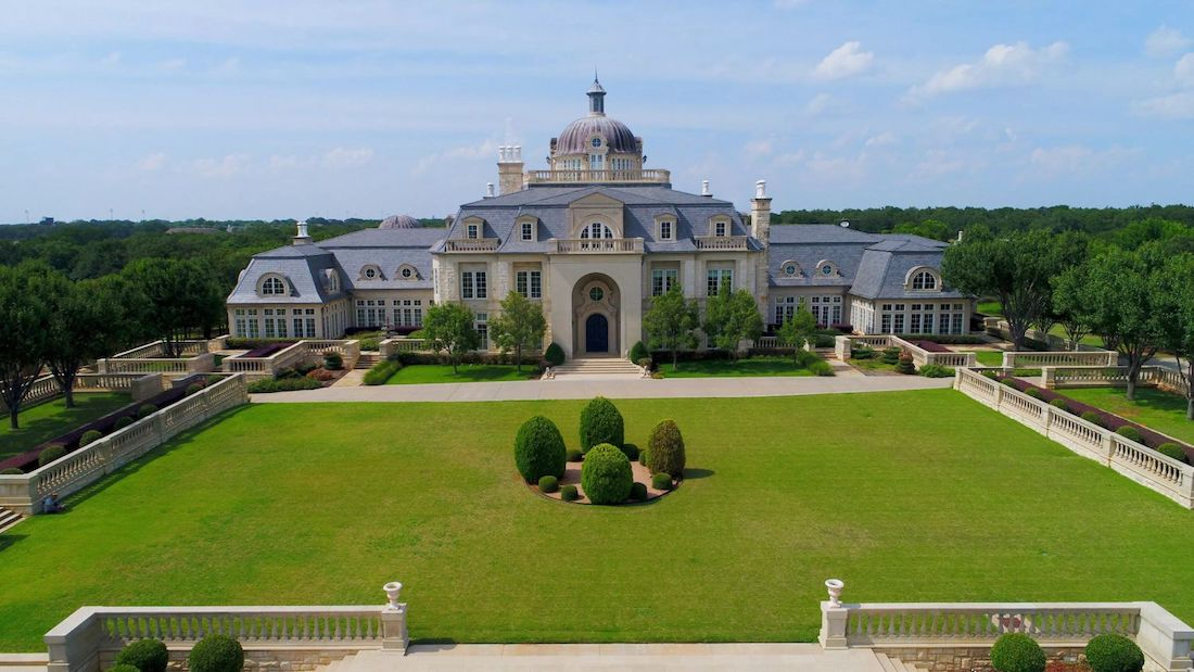 Champ D Or 48 000 Sq Ft Texas Manor Once Priced At 72 Million Sells At Auction For