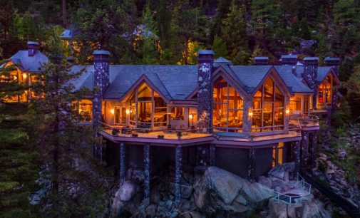 16,000 Sq. Ft. Nevada Masterpiece With 525-Feet On Lake Tahoe Lists For $75-Million (PHOTOS & VIDEO)