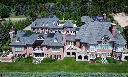 First Time On The Market: 14,500 Sq. Ft. Bloomfield Township Manor Yours For $10.55-Million (PHOTOS & VIDEO)