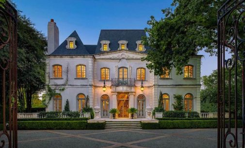 Quintessential 8,100 Sq. Ft. French Manor Lists in Preston Hollow, TX For $4.425-Million (PHOTOS)