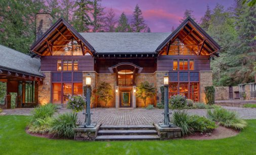 North Bend, WA's 61 Acre Stone House Estate Reduced to $6.5M, Prev. $9.9M (PHOTOS & VIDEO)