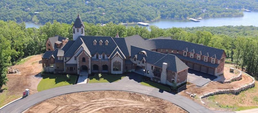Unfinished 31 000 Sq Ft Missouri Mansion On 104 Acres