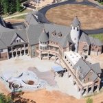 Unfinished 31,000 Sq. Ft. Missouri Mansion On 104-Acres With 1,700′ Of Shoreline Lists For $9.75-Million (PHOTOS)