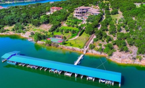 Lake Travis Dream Estate Complete with Tram & 22-Slip Marina Reduced to $4.6M (PHOTOS & VIDEO)