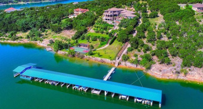 Lake Travis Dream Estate with Tram & 22 Slip Marina Sells for $4.2M (PHOTOS & VIDEO)