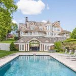 Shope Reno Wharton Masterpiece With 1,110′ Of Waterfront Reduced to $15.25-Million in Rye, New York (PHOTOS)