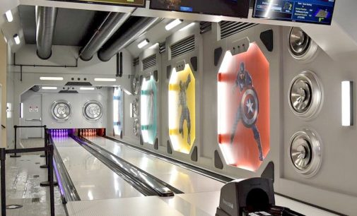 $200K Industrial Super Hero Themed Bowling Alley By Fusion Bowling (PHOTOS)