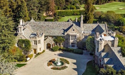 A Look Inside Hugh Hefner's Iconic 22,000 Sq. Ft. $100M Playboy Mansion (PHOTOS & VIDEO)