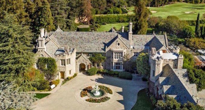 A Look Inside Hugh Hefner's Iconic 22,000 Sq. Ft. $100M Playboy Mansion (PHOTOS & VIDEO)