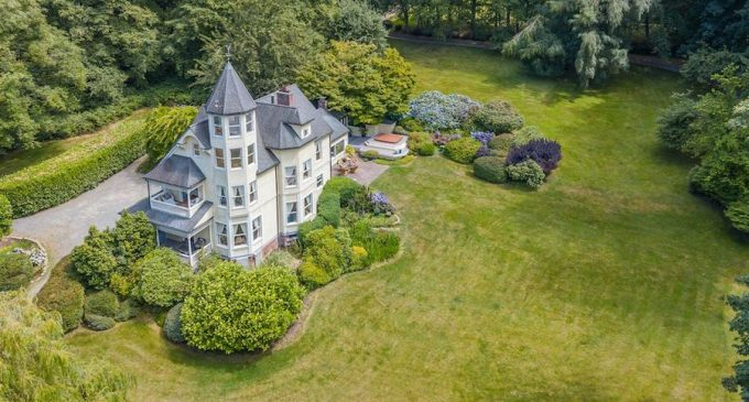 'Sutter's Castle' – A c.1900 Victorian Manor on 10-Acres in Vashon, WA lists for  $3.5-Million (PHOTOS & 3D TOUR)