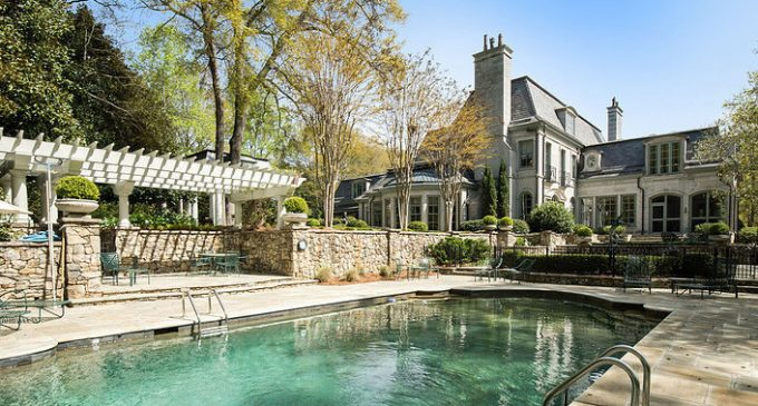 12,000 Sq. Ft. Limestone Manor on 6 Acres in Greenville, SC for $7.5M (PHOTOS)