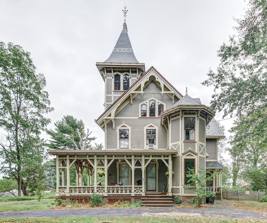 C 1876 Victorian Gothic Manor In New Haven Ct Reduced To