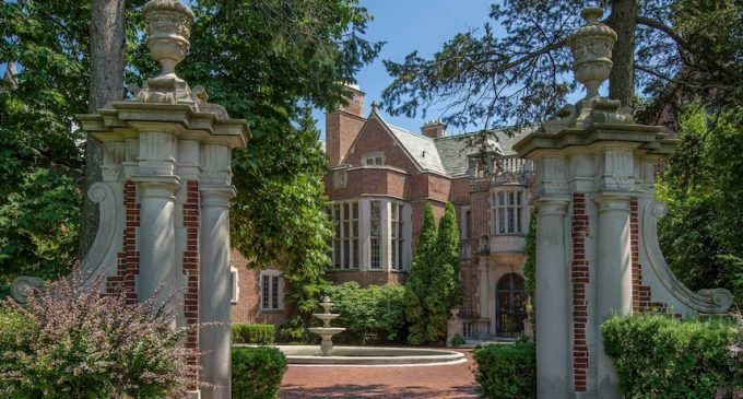 Lake Forest, IL's Historic c.1917 Schweppe Estate Reduced to $8.95M, Prev. $18M (PHOTOS & VIDEO)