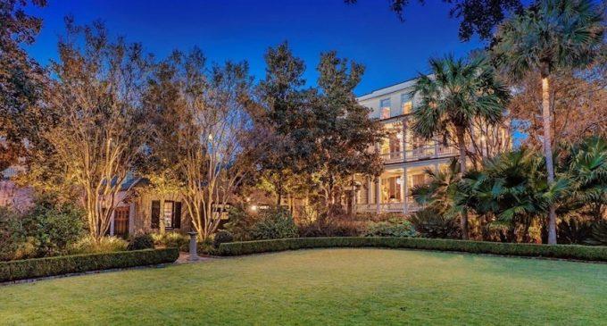 Charleston's Historic 17,000 Sq. Ft. c.1803 'Sword Gate Mansion' Reduced to $14.9M, Prev. $19.99M (PHOTOS & VIDEO)