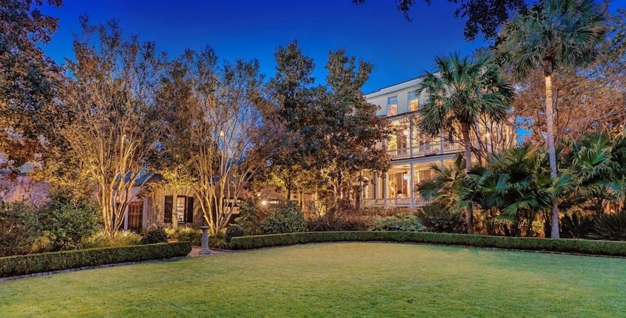 Charleston's Historic 17,000 Sq. Ft. c.1803 Sword Gate Mansion Reduced to $14M (PHOTOS)