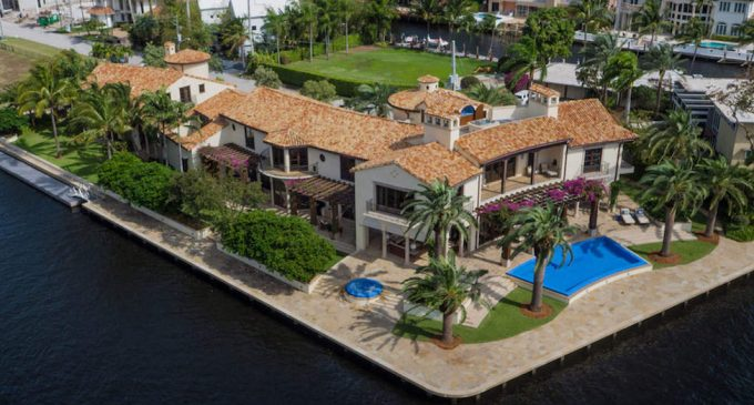 16,000 Sq. Ft. Mediterranean with 625′ of Waterfront in Fort Lauderdale, FL Sells for $18.8M, Prev. $30M (PHOTOS & VIDEO)