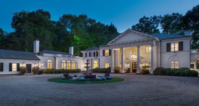 New Canaan, CT's Allan Greenberg Designed 'Huckleberry House' Reduced to $5.99M, Prev. $11M (PHOTOS)