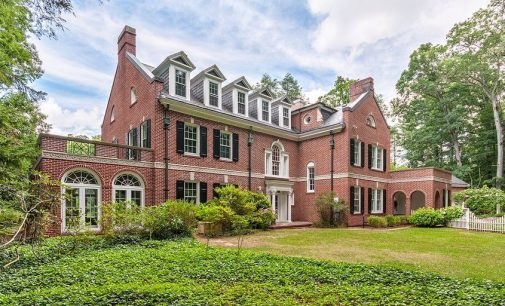 c.1928 Georgian Manor in Biltmore Forest, NC Reduced to $3.175M (PHOTOS)