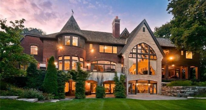 Louis DesRosiers Designed Bloomfield Township, MI Estate Reduced to $3.4M (PHOTOS & VIDEO)