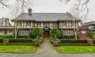 Vancouver's c.1921 Hugh Mansion in Shaughnessy lists for $9.98M (PHOTOS)
