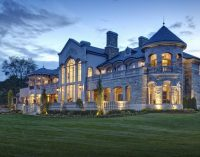 An Elegant 14,000 Sq. Ft. Manor on Cass Lake in West Bloomfield, MI by DesRosiers Architects (PHOTOS & VIDEO)