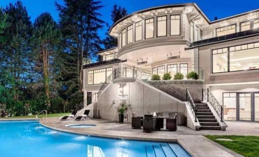 Newly Completed 12,300 Sq. Ft. West Vancouver, BC Manor Reduced to $17.28M, Prev. $19.58M (PHOTOS & VIDEO)