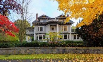 c.1912 First Shaughnessy Heritage B Mansion Reduced to $17.8M (PHOTOS)