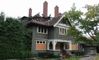 Vacant c.1913 Tudor Manor Worth $14M in Shaughnessy Destroyed by Fire (PHOTOS & VIDEO)