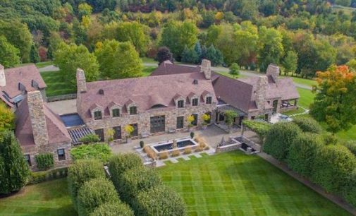 Normandy Style Manor on 90-Acres in Kinderhook, NY Reduced to $9.9M, Prev. $14.9M (PHOTOS & VIDEO)