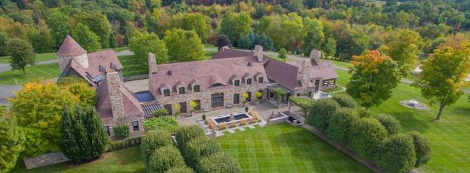 Normandy Style Manor on 90-Acres in Kinderhook, NY Reduced to $9.9M, Prev. $14.9M (PHOTOS)