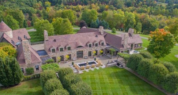 Normandy Style Manor on 90 Acres in Kinderhook, NY Reduced to $9.9M, Prev. $14.9M (PHOTOS & VIDEO)