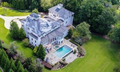 16,000 Sq. Ft. Plantation Style Home on the Chattahoochee River in Alpharetta, GA for $2.9M (PHOTOS)