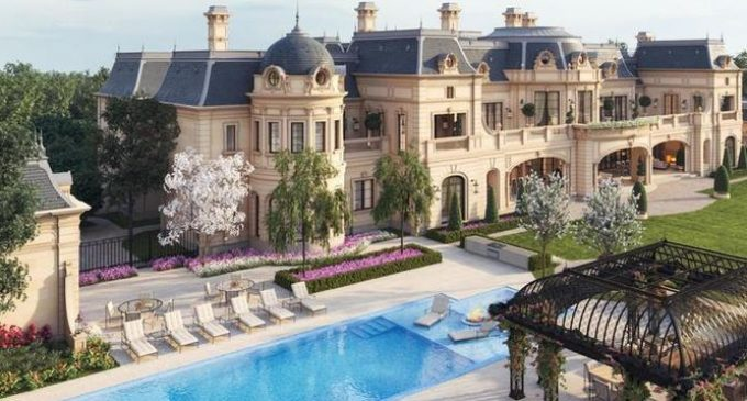 2.59-Acre Beverly Park Lot Lists for $32.5M with Approved Plans for 56,000 Sq. Ft. Richard Landry Designed Manor (PHOTOS)