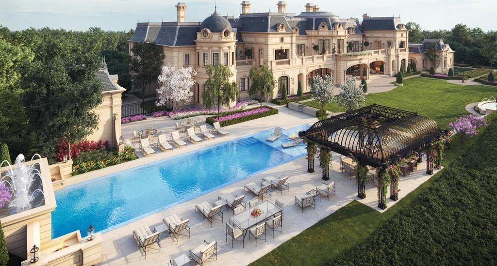 Luxury French Country House Plans