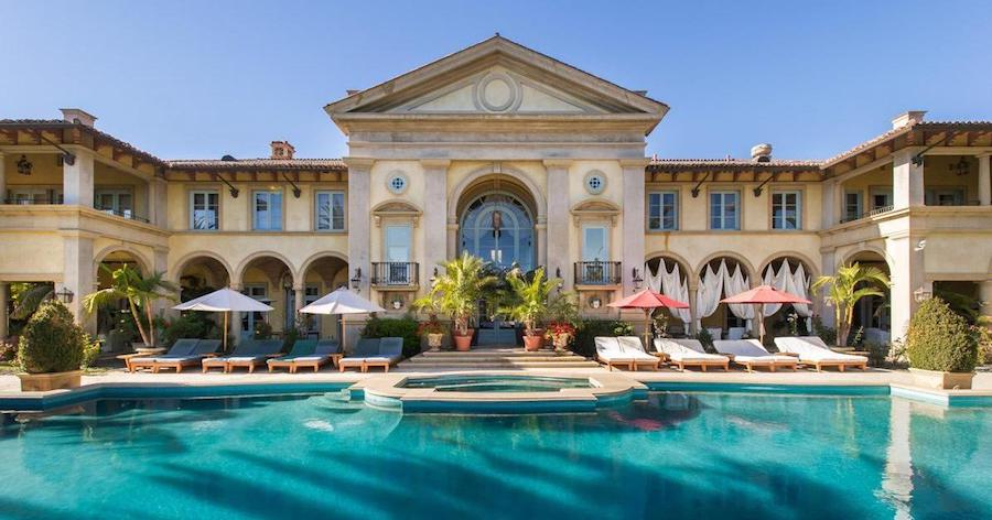 14,500 Sq. Ft. Beverly Hills Mansion Formerly Owned by Vanna White Relists for $47.5M (PHOTOS)