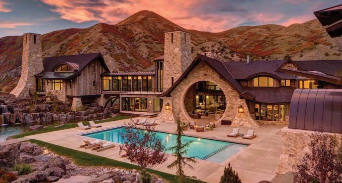 """Incomparable 23,000 Sq. Ft. Utah """"Hobbit House"""" on 29.5-Acres Reduced to $14.9M, Prev. $18.5M (PHOTOS)"""