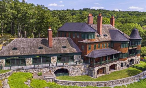 Lakefront Hilltop Mansion on 4.7-Acres in Tuxedo Park, NY Reduced to $6.6M (PHOTOS)