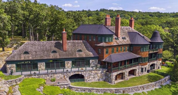 Hilltop Mansion on 4.7 Acres in Tuxedo Park, NY Reduced to $5.78M, Prev. $6.98M (PHOTOS)