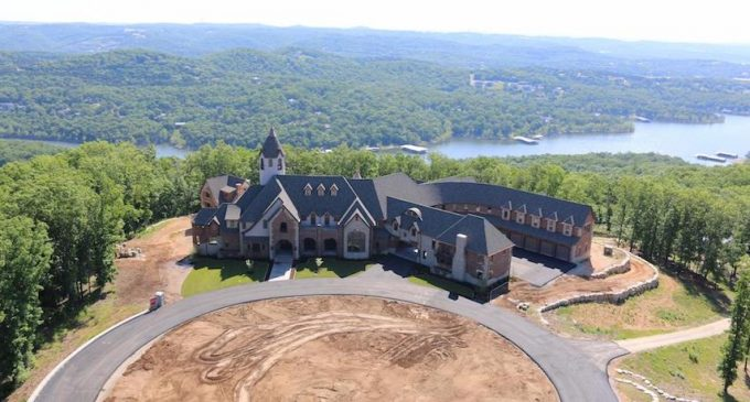 Cole and Heidi Hamels Donate Unfinished 32,000 Sq. Ft. Mansion to Camp Barnabas (PHOTOS)