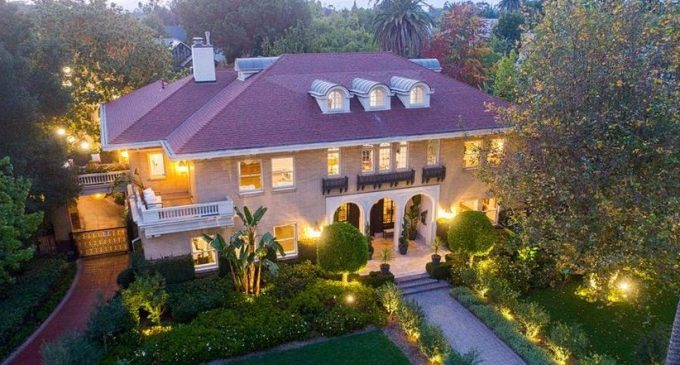Before & After: c.1914 L.A. Mansion Originally Designed by Hunt and Burns Transformed in Complete Renovation (PHOTOS)
