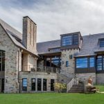 11,000 Sq. Ft. Modern English Manor on Lake Waramaug by TEA2 Architects Reduced to $9.9M (PHOTOS)