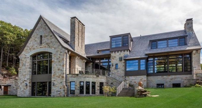 11000 Sq Ft Modern English Manor On Lake Waramaug By TEA2 Architects Lists For 107M PHOTOS