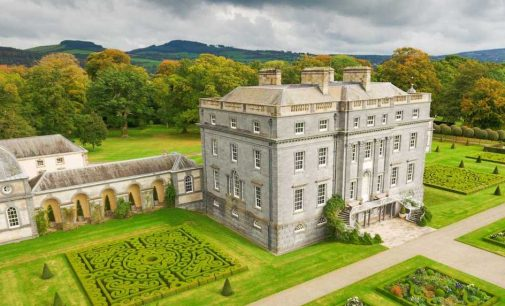 Inside Ireland's c.1767 36,000 Sq. Ft. Castletown Cox Castle on 513-Acres (PHOTOS)