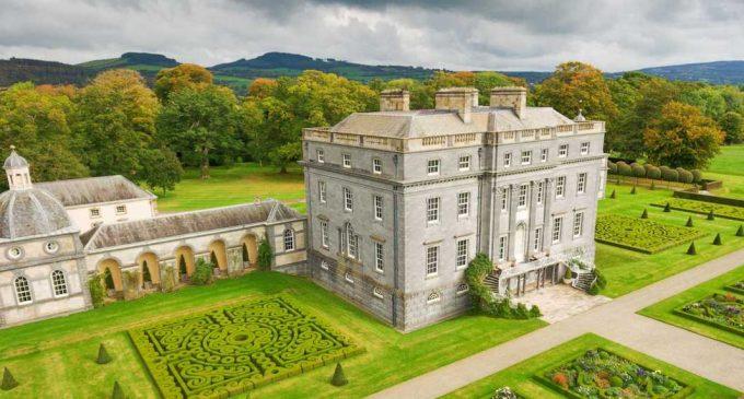 Inside Ireland's c.1767 36,000 Sq. Ft. Castletown Cox Castle on 513-Acres (PHOTOS)