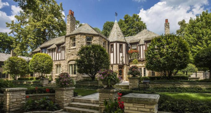 c.1930 Armin Frank Designed French Normandy Manor in Whitefish Bay, WI Sells for $2M (PHOTOS)
