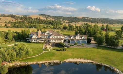 25,000 Sq. Ft. 12 Bed/21 Bath 'Western Farmhouse' on 17-Acres in Hamilton, MT for $27.5M (PHOTOS & VIDEO)