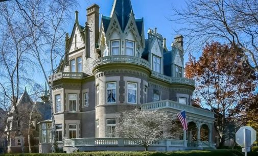 Historic c.1896 'Goldberg Mansion' in Milwaukee, WI Reduced to $1.45M, Prev. $1.69M (PHOTOS)